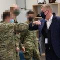 Kalle Laanet kohtus USA armee esindajatega (näod udustas kaitseministeerium)