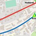 Движение на улице Луйзе будет приостановлено на время строительных работ