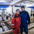 TUBLID TÖÖTAJAD: Ukraina töölised Kagu-Eestis Kaska-Luiga talus.