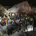 FOTOD ja VIDEO: Norras mattis laviin kümmekond maja enda alla, on ka ohvreid