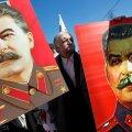 Vene kommunistid panevad Stalini oma riigiduuma valimiste kampaaniat vedama