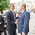 välisminister Urmas Paet kohtus soome peaministriga