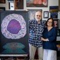 SIIN SÜNNIB KUNST Jüri ja Kai Arrak kunstniku ateljees, kus ta loob kunsti juba alates 1977. aastast.