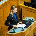 Valitsuse ametisse vannutamine riigikogus