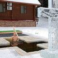 FOTO | Putin tegi kolmekuningapäeva supluse jääaugus