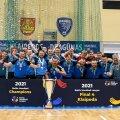 Hooaja 2020/2021 Balti liiga võitja – Klaipeda HC Dragunas.