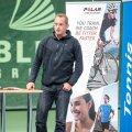 Yves Allegro Tallinnas treenerite konverentsil.