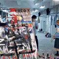 Artur Zmijewski tegeleb näituse teemaga seotud probleemidega Poolas nii installatsiooni kui ka videote vahendusel.