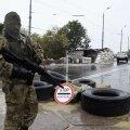 Eraldusmärkideta võitleja Donetskis