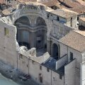 Maavärinas purunenud katedraal Abruzzos.
