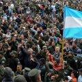 Argentinas avaldasid palgakärbete vastu meelt tuhanded sandarmid