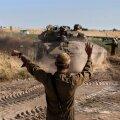 Сирийские войска на Голанских высотах