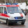 Kohtla-Järvel pussitatud vanem naine viidi haiglasse
