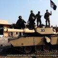 Abrams-tank Islamiriigi vägede käes Iraagis mullu. https://militaryvideos.com