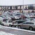 Kaubanduskeskuste parklad enne jõule