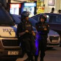 Politseinikud Iisraeli Jordaania saatkonna juures