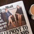 Ajaleht Daily Mail sai kõvasti noomida Šoti ja Briti peaministrite jalgade võrdlemise eest