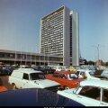 "Kaader tellitud dokfilmist ""Tallinn"". Hotell ""Viru"".1977"