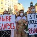 Pärast Valgevene presidendivalimisi on opositsiooni rahumeelsed protestid vägivaldselt maha surutud.