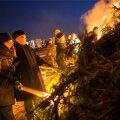 Tuleskulptuure aitas süüdata linnapea Edgar Savisaar