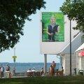 Karin Tammemägi valimisplakat Stroomi rannas