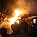 Plahvatusele järgnenud tulekahju Cairos