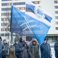 Rahvuslik noorteliikumine Sinine Äratus korraldas meeleavalduse