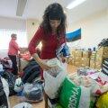 Humanitaarabi Ida Ukraina elanikele kogus näiteks Eesti Mittekodanike Liit.