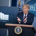 Trump: koroonaviiruse pandeemia läheb ilmselt kahjuks hullemaks, enne kui paremaks