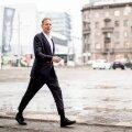 Rain Lõhmus käib Tallinnas enamasti korra kuus. Seekord jäi ta ainult üheks päevaks, et mitte koroonakarantiini istuma jääda.