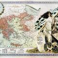 Sellisena nägi Kreeka end 1920. aastal. Ülanurgas Eleftherios Venizelos.