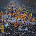 Tuhanded kataalanid tulid tänavatele nõudma oma separatistlike juhtide vabastamist