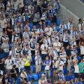 Soome jalgpallikoondise fännid Peterburis