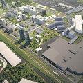 Konverentsi- ja messikeskus peaks tulema Ülemiste keskuse ja lennujaama vahele.