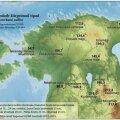 Eesti maakondade kõrgeimad tipud mõõdetuna Amsterdami nullist