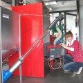 Uuemate pelletkütte süsteemide hooldusvälp on umbes kaks kuud- siis vajab tuharuum tühjendamist.