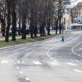 Tühjus Tallinnas 17.03.2020