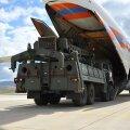 S-400 õhutõrjekompleksid saabumas Türki.