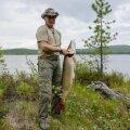 President Putin kalastamas