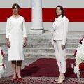 SELGITAV VIDEO | President kandis kohtumisel Tsihhanovskajaga valge-punase kombinatsiooni. Kas pelgalt juhus või sügavam tähendus?