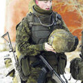 Eesti sõdur Paldiskis valmistub Iraagi-missiooniks.