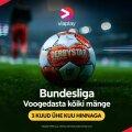 Vaadake kõiki Bundesliga mänge Viaplays!