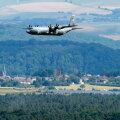 USA sõjalennuk Saksamaal Ramsteini baasi lähedal.
