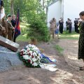 ФОТО: Керсти Кальюлайд в Латвии отмечает столетие Цесисской битвы