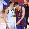Kas Rokas Jokubaitis (vasakul) hakkab tuleval hooajal kandma Barcelona särki?
