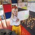 7-aastane Greta käib koolis nii Prantsusmaal kui Eestis