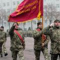 Украинский полк на параде в Чернигове