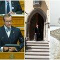 HOMMIKUBLOGI: president ootab valitsuselt rohkem julgust ja otsustusvõimet, Eesti Ajaloomuuseumis saab näha maailma kalleimat münti, teeolud on äärmiselt keerulised