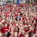 FOTOD ja VIDEO: Tuhanded lapsed jooksid heategevuse nimel