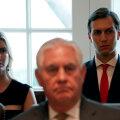 Välisminister Tillerson tundis korduvalt, et presidendi lähikondlastel on suurem välispoliitiline roll kui temal.